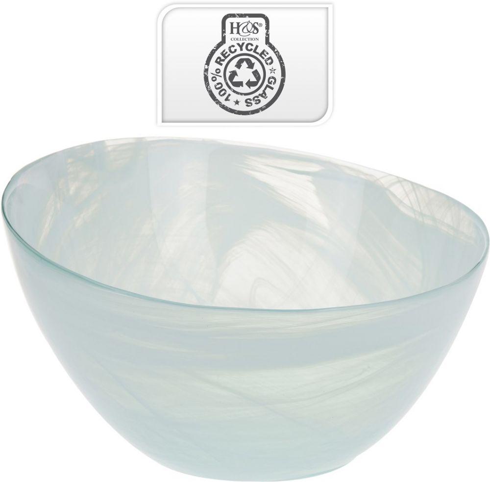 Miska szklana, śred. 30 cm