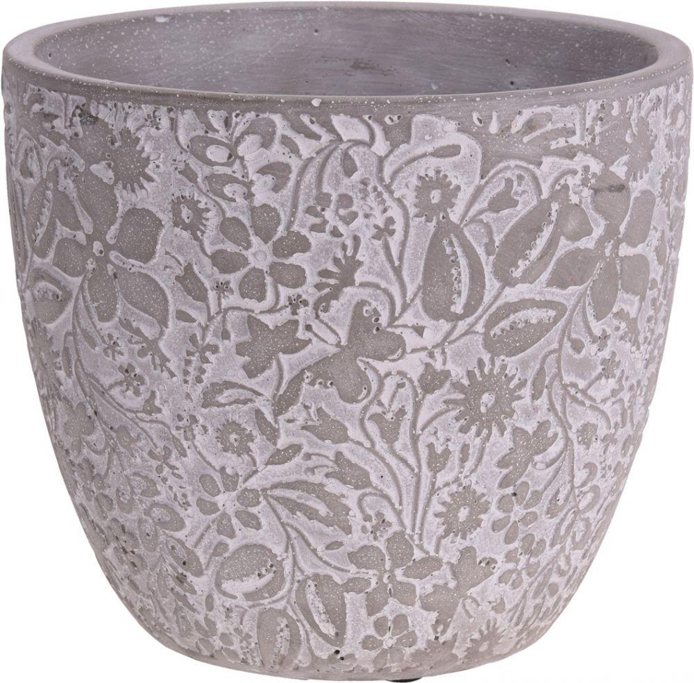 Doniczka ceramiczna, wys. 15 cm