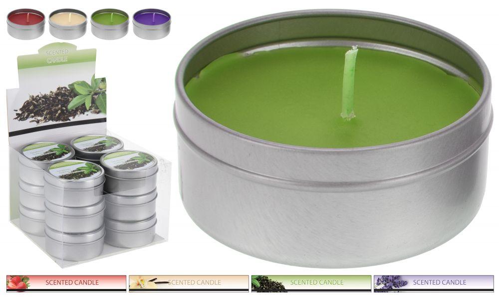 Tealight w puszce - zapachowy