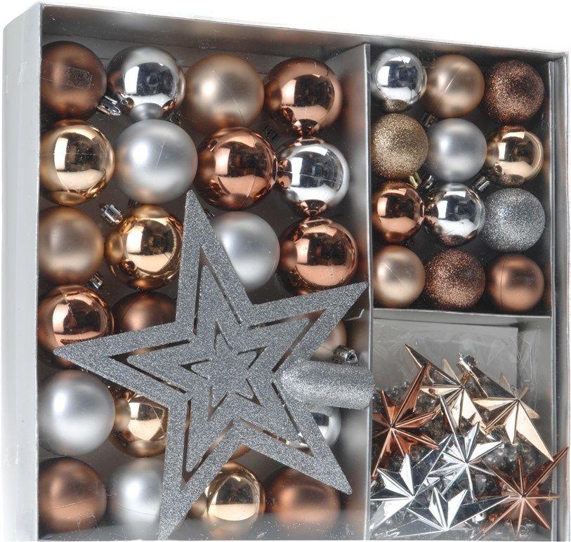 Zestaw ozdób świątecznych