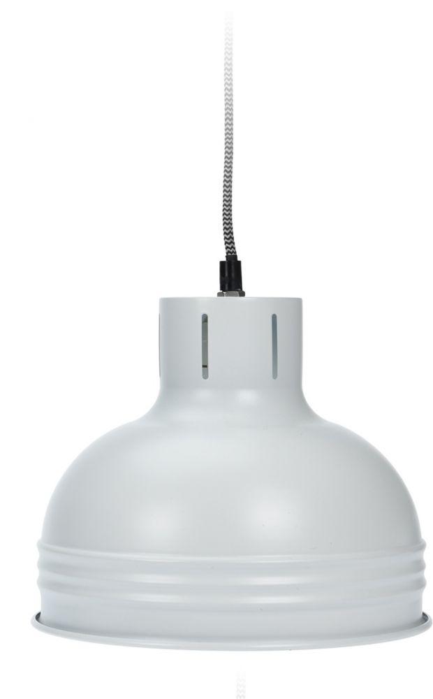 Lampa wisząca - Industrial II Biała