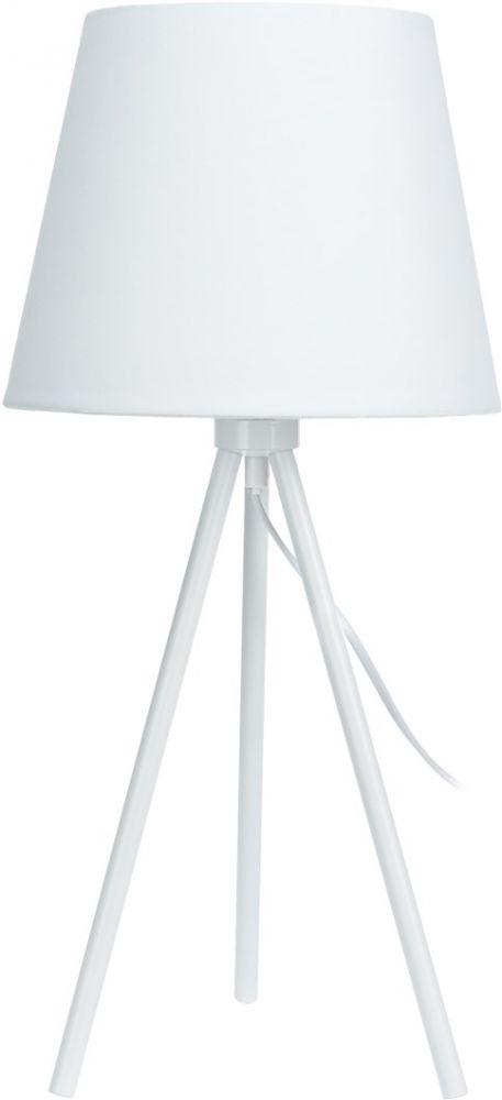 Lampa stołowa - Elegance White