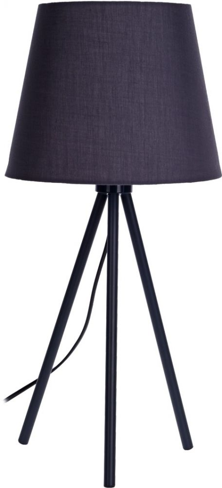 Lampa stołowa - Elegance Graphite