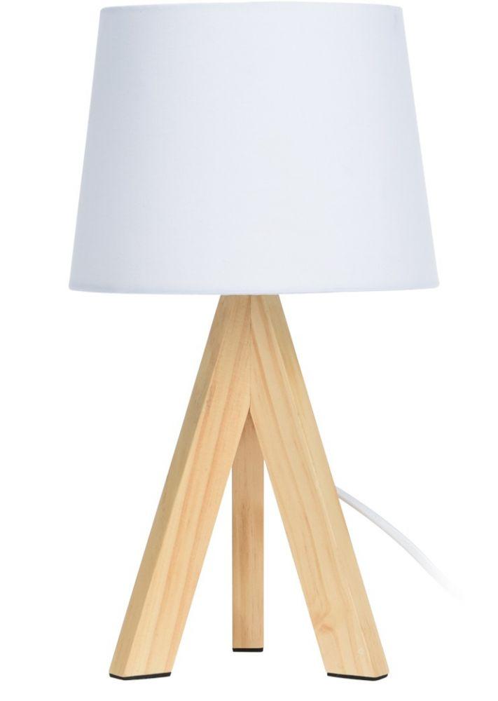 Lampa stołowa - Skandi Biała