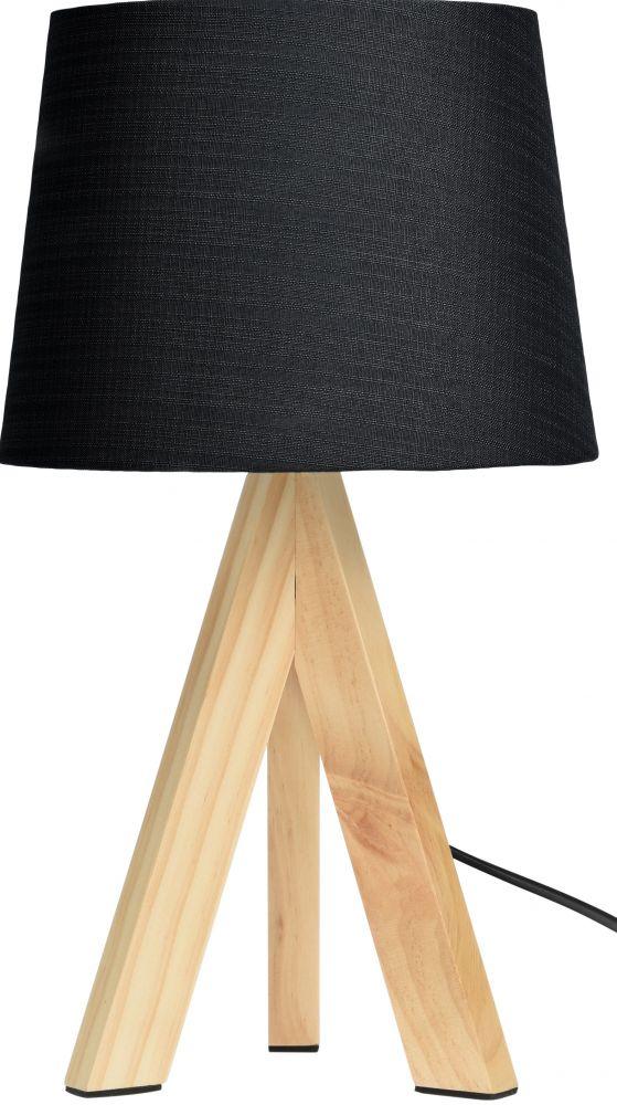 Lampa stołowa - Skandi Czarna