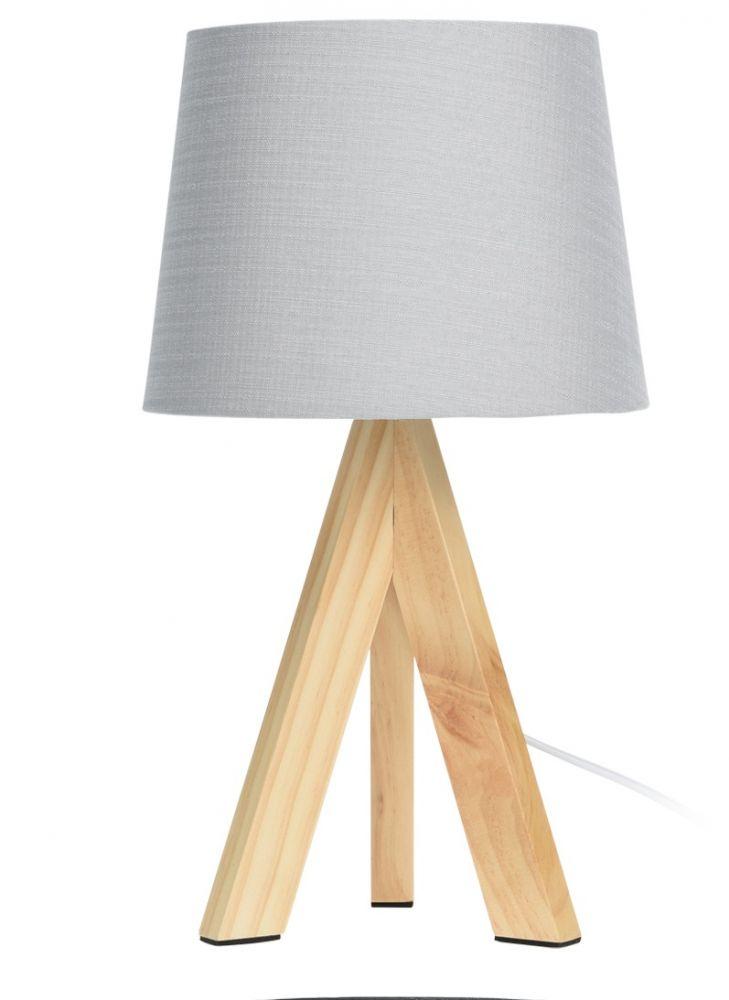 Lampa stołowa - Skandi Szara