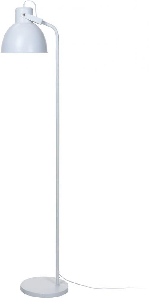 Lampa stojąca - Loft Biała