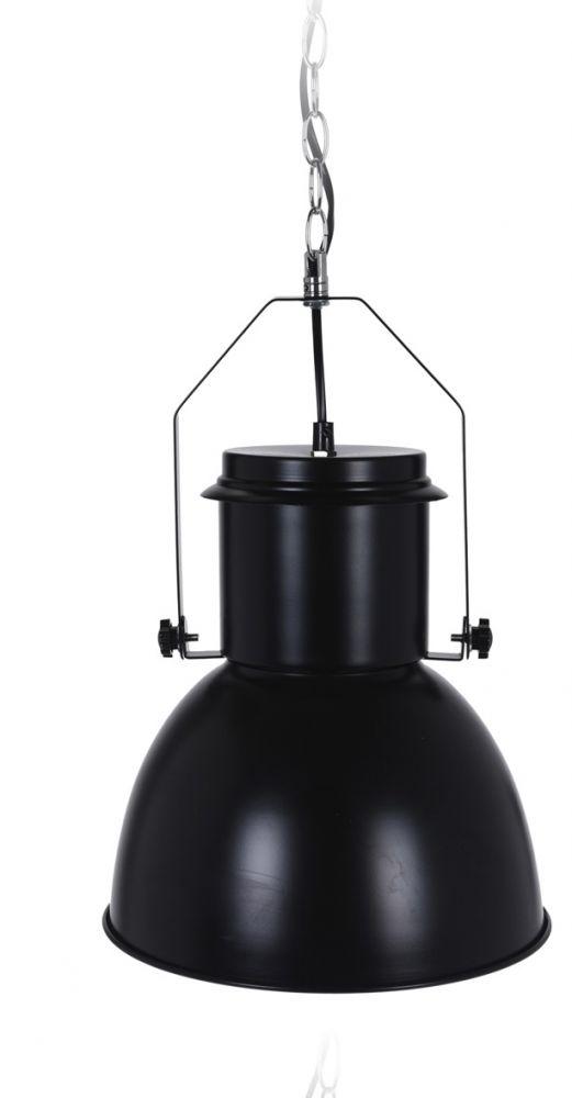 Lampa wisząca - Industrial I Czarna
