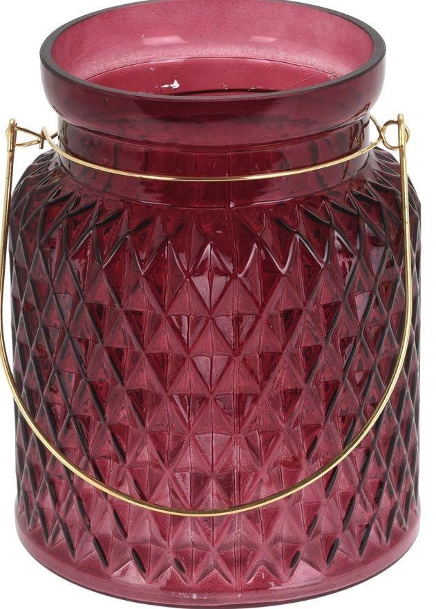 Świecznik szklany na tealight
