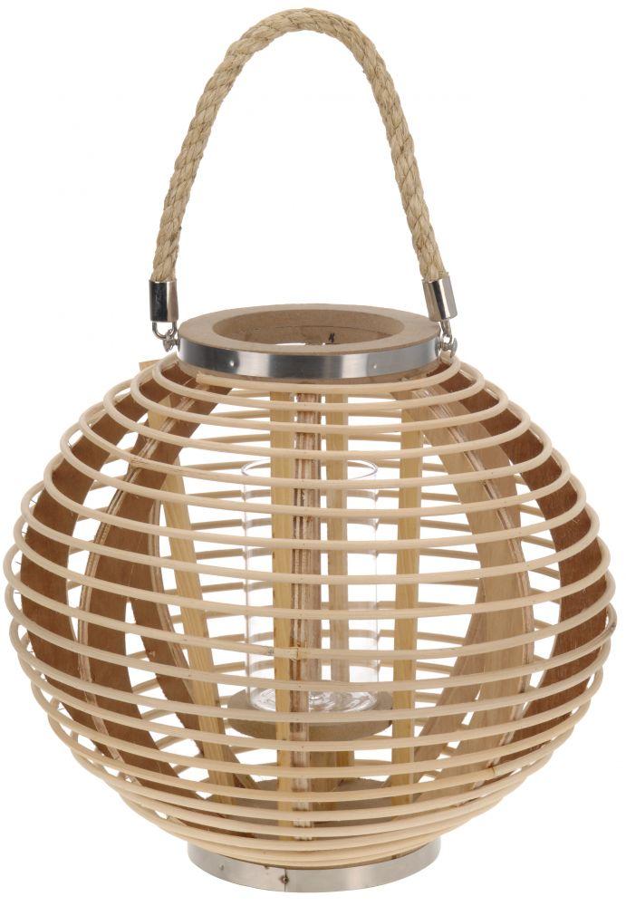 Lampion z bambusa - kula
