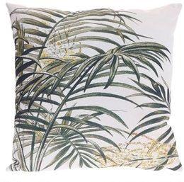 Poduszka z motywem liścia - palmy