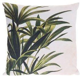 Poduszka z motywem liścia - konopii
