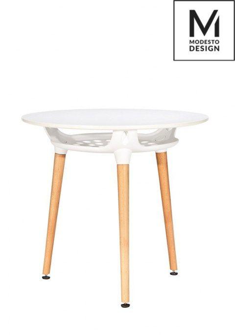 Stół HIDE okrągły z półką