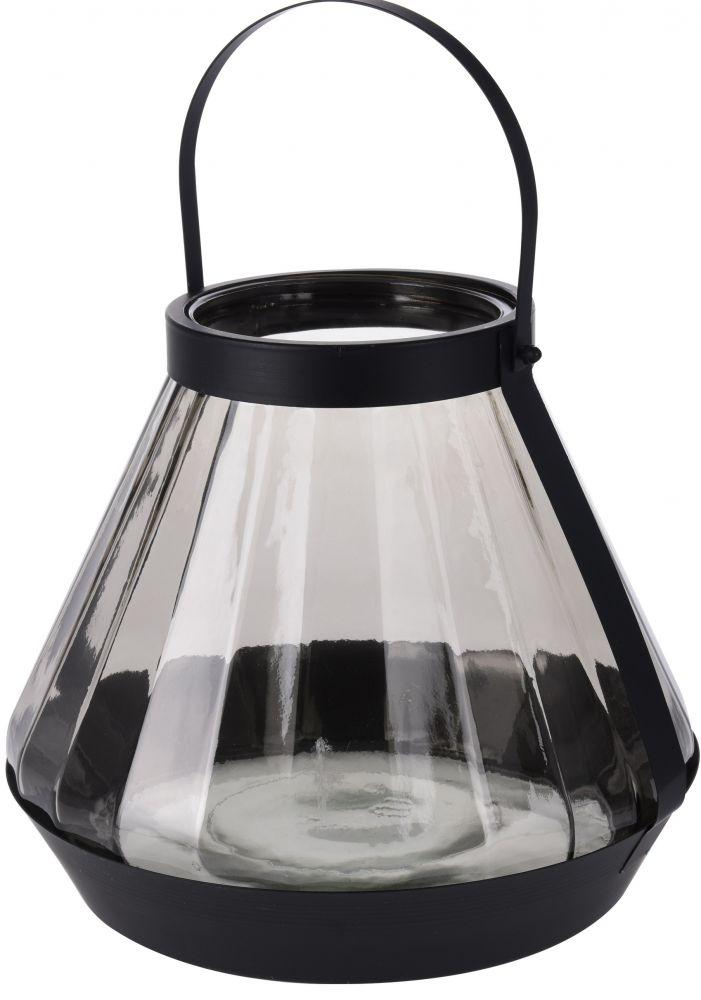 Latarnia szklana z uchwytem