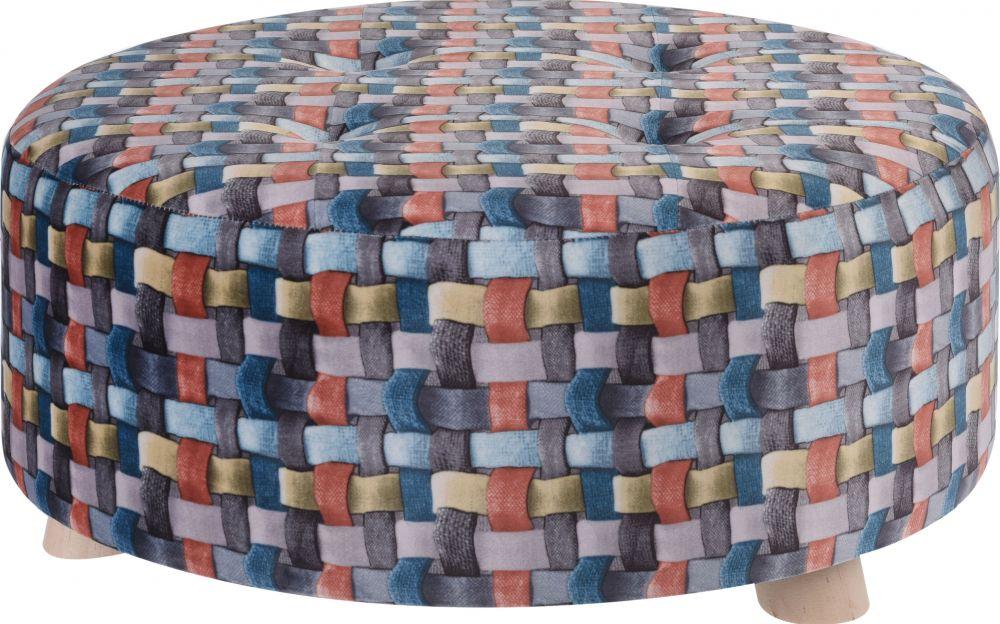 Pufa welurowa Rubik I