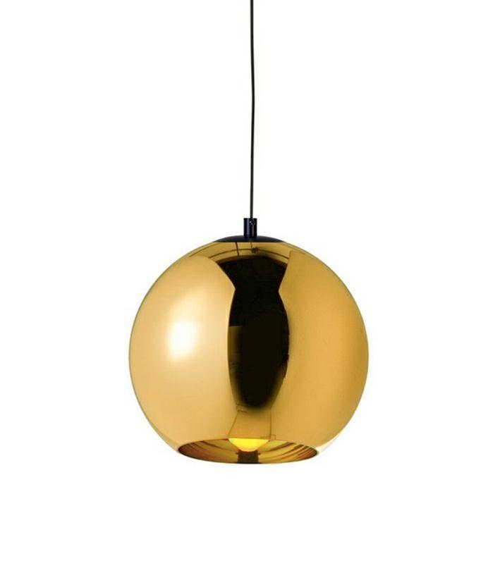 LAMPA BOLLA UP GOLD 20 - SZKŁO METALIZOWANE